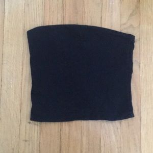Brandy Melville black tube top